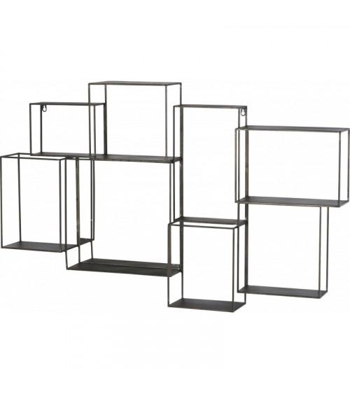 Miroir Etagère Cube